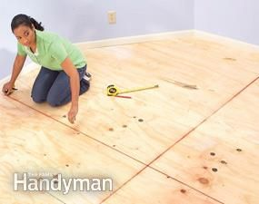 How to Lay Carpet Squares | The Family Handyman