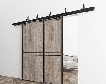 Best 25 exterior sliding barn doors ideas on pinterest diy exterior sliding barn door for Exterior bypass barn door hardware