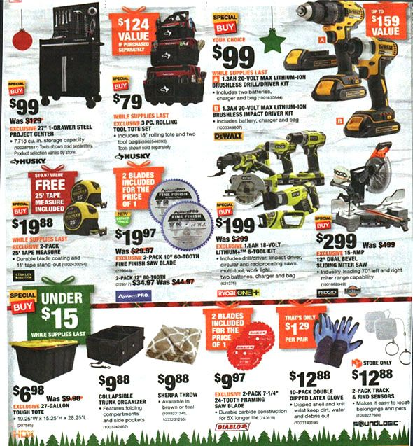 Home Depot Black Friday 2018 Tool Deals Page 16 Home Depot Coupons Black Friday Black Friday Ads