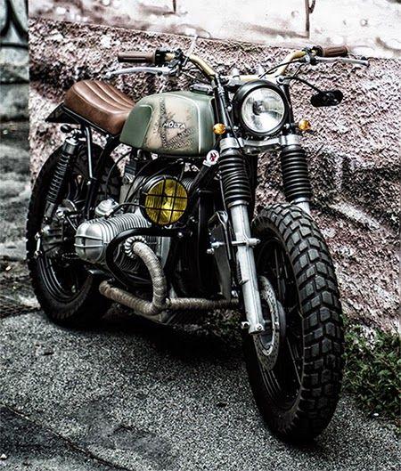 BMW R65 Mölta Street Tracker #motorcycles #streettracker #motos | caferacerpasion.com