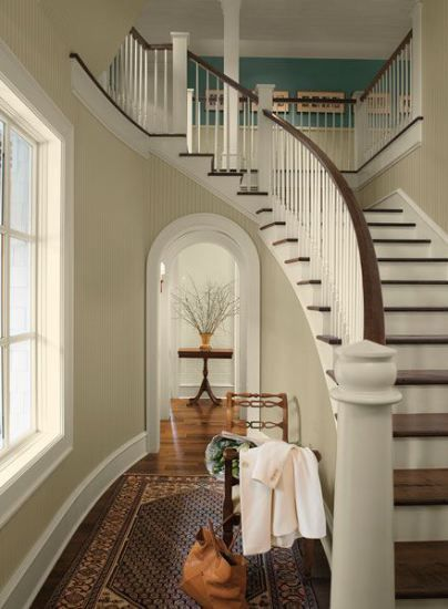benjamin moore bleeker beige is a great neutral tan paint colour for any room in your home