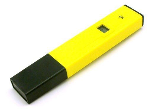 CyberTech PHTester PH-107 Digital pH Meter Tester by CyberTech. $14.99. This digital pen style pH meter is an ideal instrument for any aquarium, the fishing industry, swimming pools, school laboratories, food & beverage etc. Please be sure to calibrate with buffer solution before use.  Calibration:  -- Immerse the tester up to the maximum immersion level in the PH 6.86 buffer solution. (Package Includes 2 pack of PH substance which makes 250 ml buffer solutions, PH 4 and PH ...
