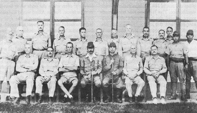 American generals in captivity, July 1942