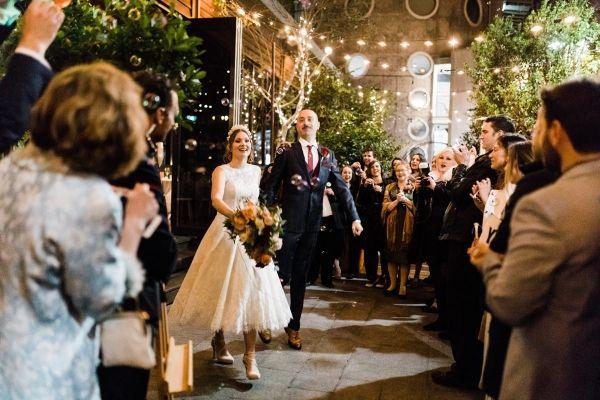 Jessica & Andrea's Beautiful Intimate Garden Wedding
