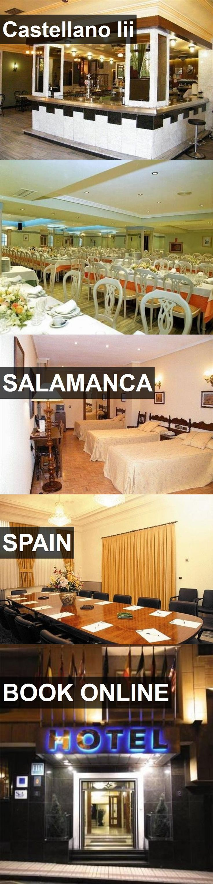 Hotel Castellano Iii in Salamanca, Spain. For more information, photos, reviews and best prices please follow the link. #Spain #Salamanca #travel #vacation #hotel