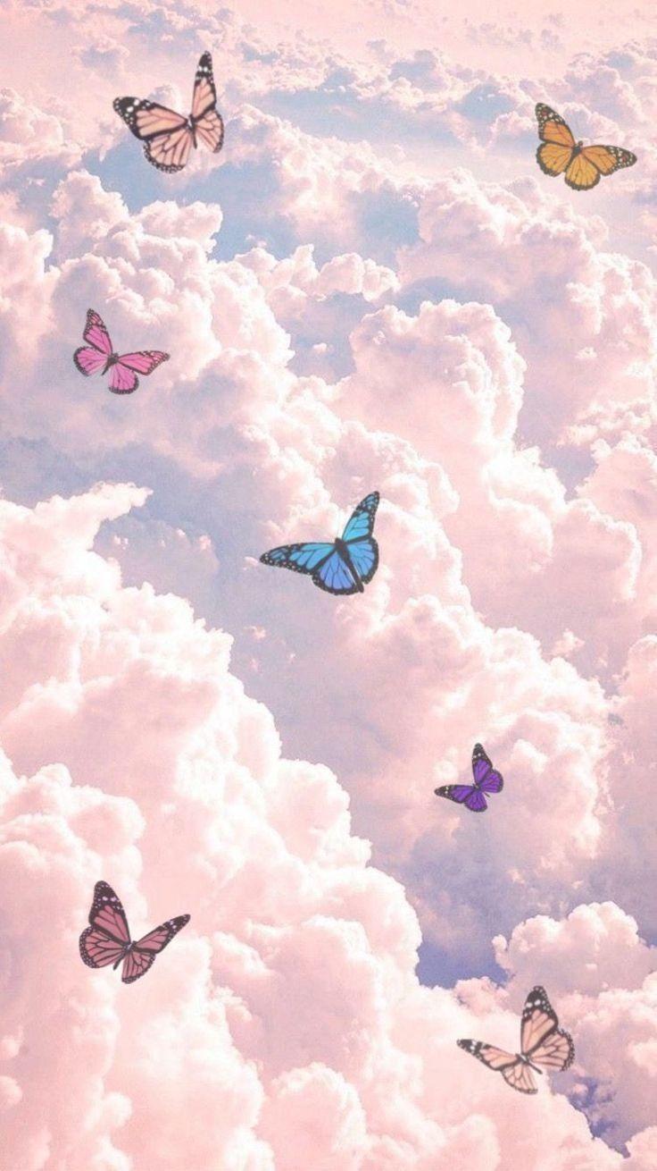 fondo de mariposas in 2020 butterfly wallpaper iphone