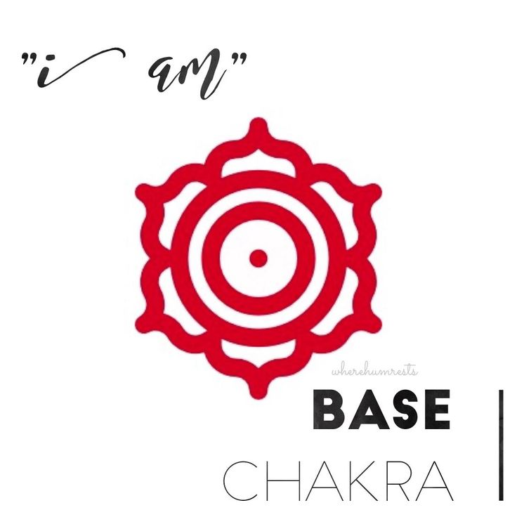I am base chakra - physical and energetic physique