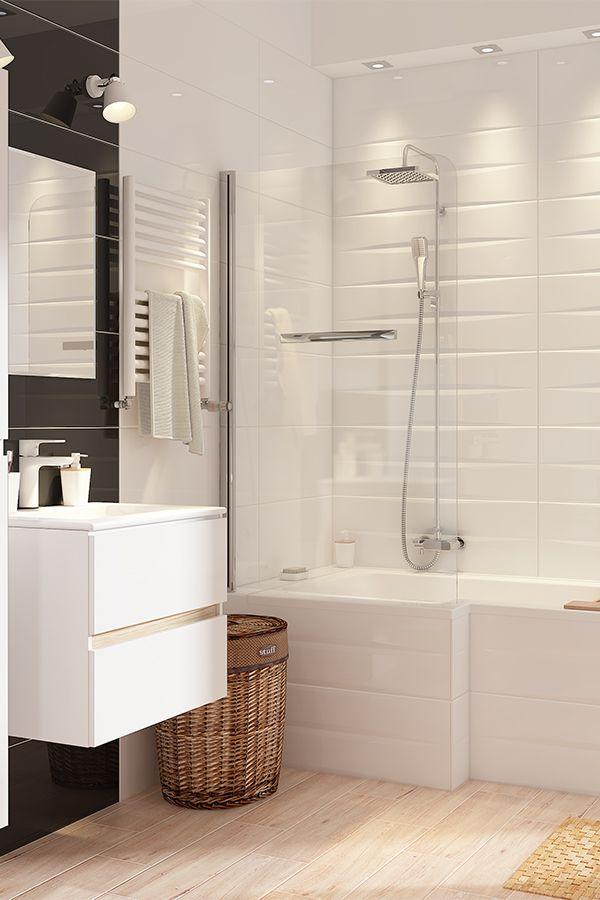 Leroymerlin Leroymerlinpolska Dlabohaterowdomu Domoweinspiracje Lazienka Bialeszafki Plytki Bathroom Design Small Bathroom Inspiration Bathroom Design