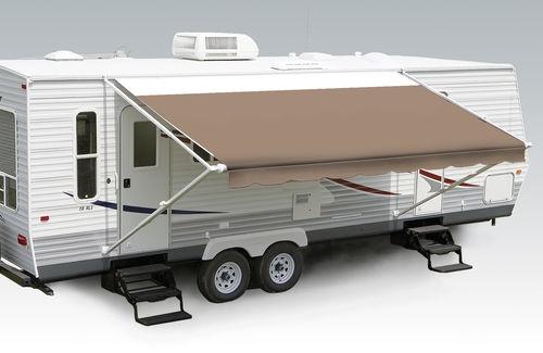 $92.65  10 21 Sierra Denim w Wht w G RV Patio Awning Replacement Fabric Canopy | eBay