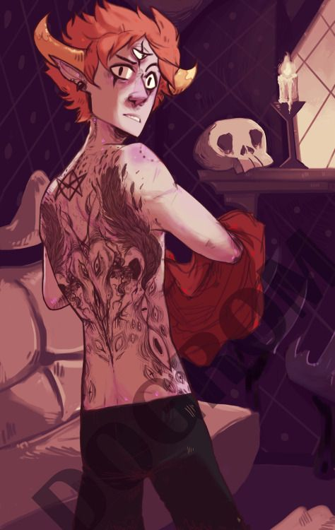 Tom's tattoos by Dogrom on DeviantArt