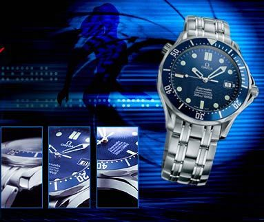 Omega seamaster  James Bond Omega watches from Bond movies