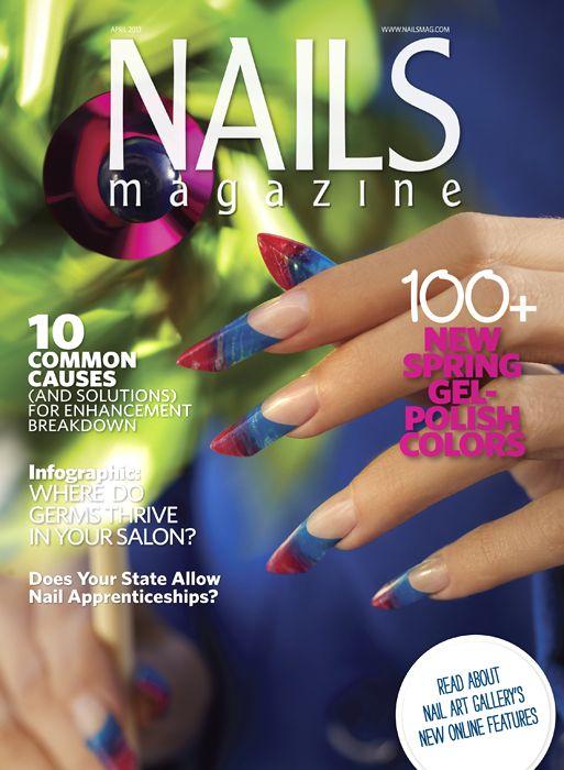 NAILS Magazine   April 2013 Issue