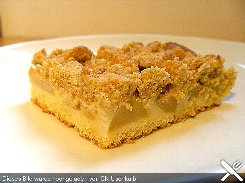 Schneller Apfel - Streusel vom Blech, ein leckeres Rezept aus der Kategorie Kuchen. Bewertungen: 34. Durchschnitt: Ø 4,3.