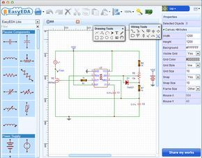 EasyEDA - Free Web-Based EDA, schematic capture, spice circuit simulation and PCB layout Online
