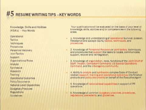 70 best Resume images on Pinterest Gym, Interview and Resume - how to write federal resume