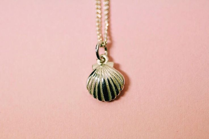 Shell sterling silver pendant by FrankieAndCoNZ on Etsy