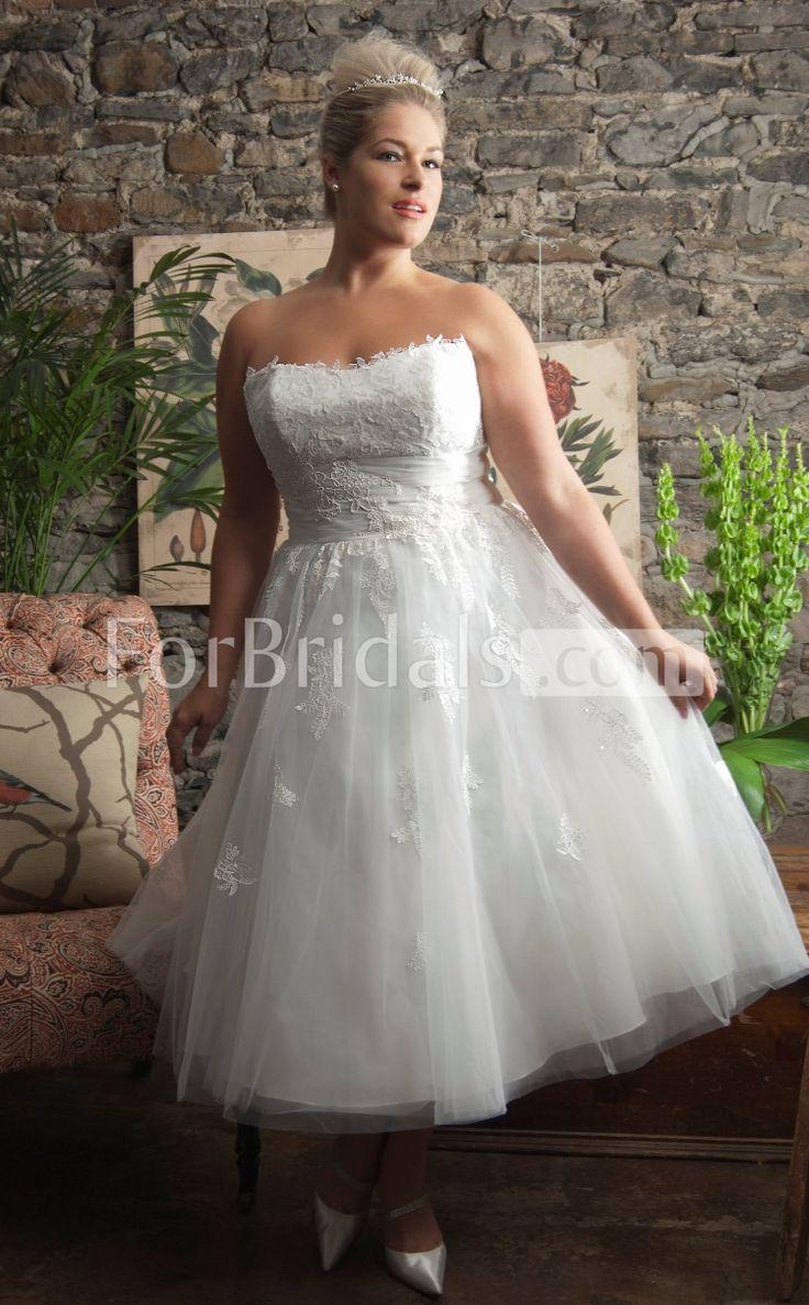 Best 100+ plus size wedding dress images on Pinterest | Wedding ...