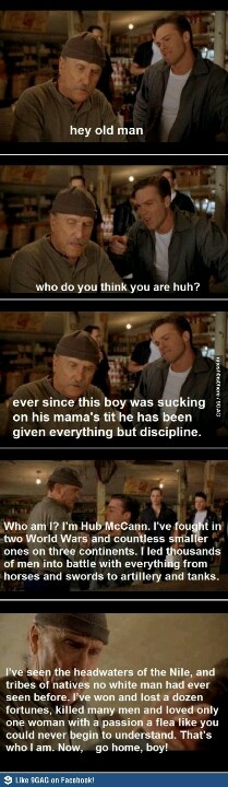Secondhand Lions <3 One of my favorite quotes