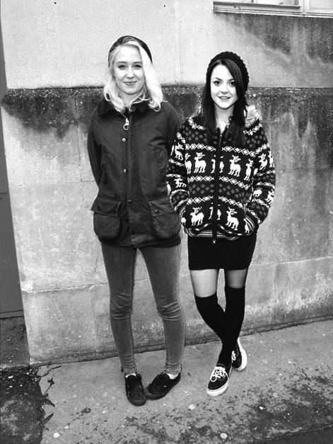 Lily Loveless & Kathryn Prescott