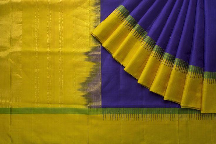 Ghanshyam Sarode Handwoven Uppada Silk Sari 1019713 - Saris / All Saris - Parisera