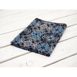 WITRAŻ / niebieski - dzianina wiskozowa #dresówka#dzianina#new#fabric#sweatshirt#materials#shop#dresowkapl#pasmanteria#jesienzima2017 #autumnwinter2017