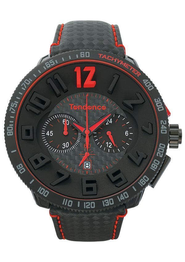 Tendence - Carbon Fibre Watch