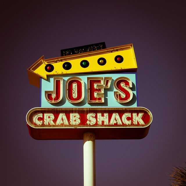 Joe's Crab Shack. This hit the spot today. First time for him and the crab and crawfish were delicious.