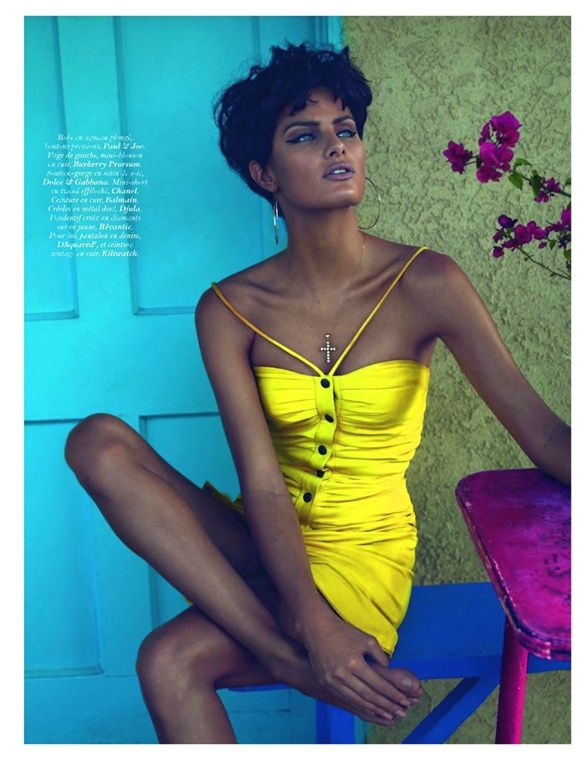 Isabeli Fontana by Mert Alas & Marcus Piggott for Vogue Paris June 2011