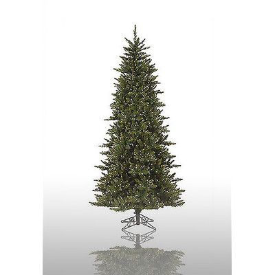 Vickerman Camdon Fir 7.5' Green Artificial Christmas Tree with 700 Pre-Lit Clear Lights with Stand with Stand   Wayfair