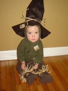 DIY Tutorial: DIY Scarecrow Costumes / DIY Baby Scarecrow Costume - Bead&Cord