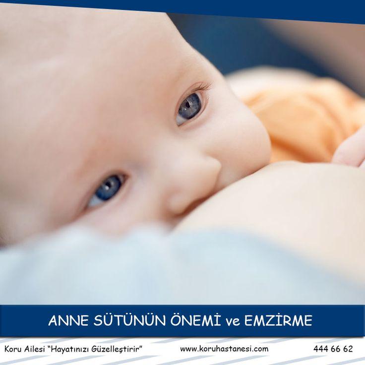 Sevgili anne ve babalar; artık tüm dünya anne sütünün, yenidoğan bebeğin büyüme ve gelişmesinde ne kadar önemli olduğunu vurguluyor....www.koruhastanesi.com