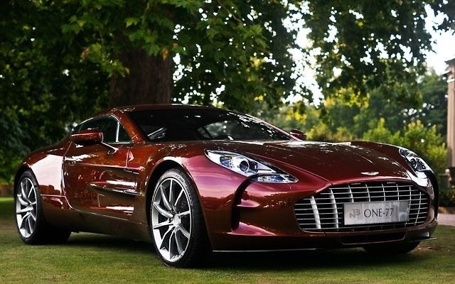 Aston Martin...the color is too sexy The GOOD stuff