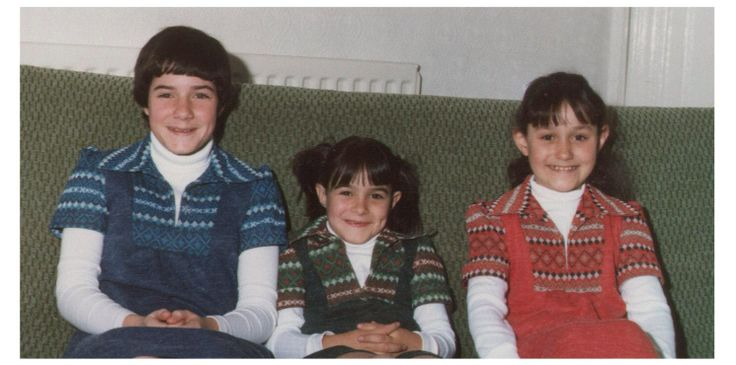 My mother had very bad taste when she made me and my sisters these dresses, I could blame the seventies for it but I truly think my mother had bad taste and still has bad taste and my oldest sister inherited it but luckily I didn't!  My friend has bad taste though.
