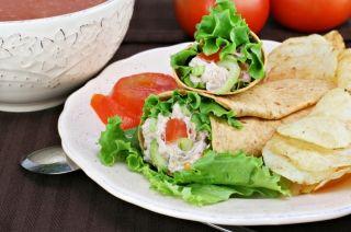 Salade de thon et d'avocat #recettesduqc #lunch