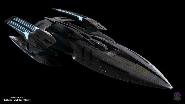ArtStation - Renegades The Requiem: CSS Archer, Keaira Finlay