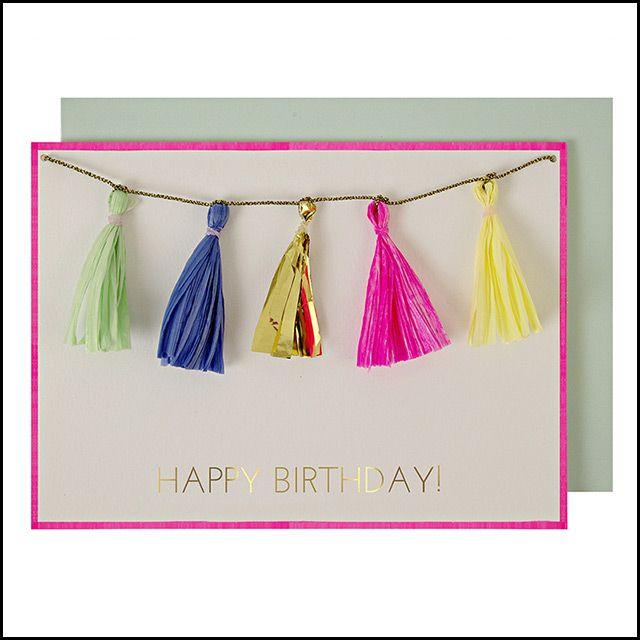 Meri Meri Birthday Card, $8.95