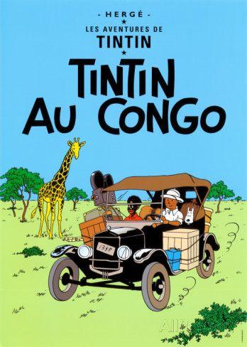 Tintin au Congo, c.1931 Posters by Hergé (Georges Rémi) at AllPosters.com