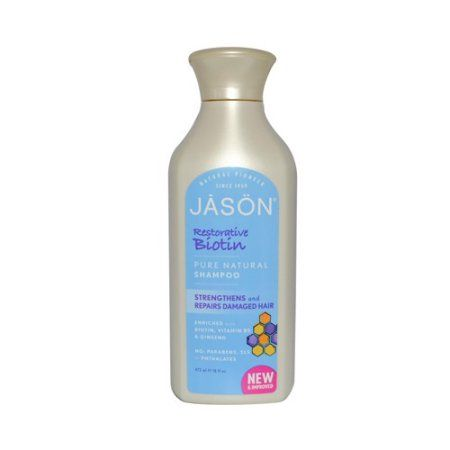 Jason Pure Natural Restorative Biotin Shampoo, 16 Fl Oz, Multicolor