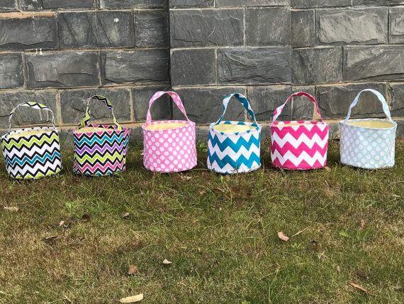 Canvas Easter baskets - wholesale.