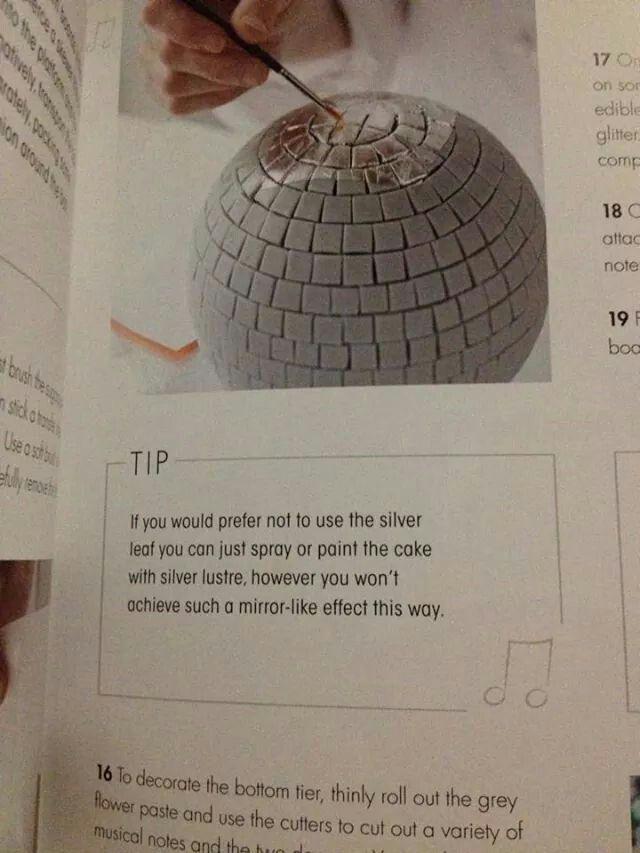 Disco ball tutorial 3