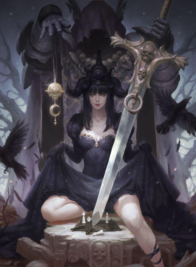 Witch By Kilartdev On Deviantart Art In 2019 Fantasy