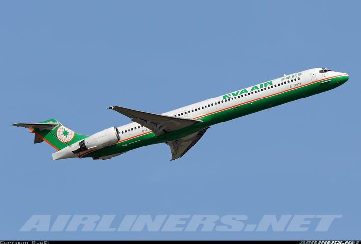 McDonnell Douglas MD-90-30 - EVA Air | Aviation Photo #4142179 | Airliners.net
