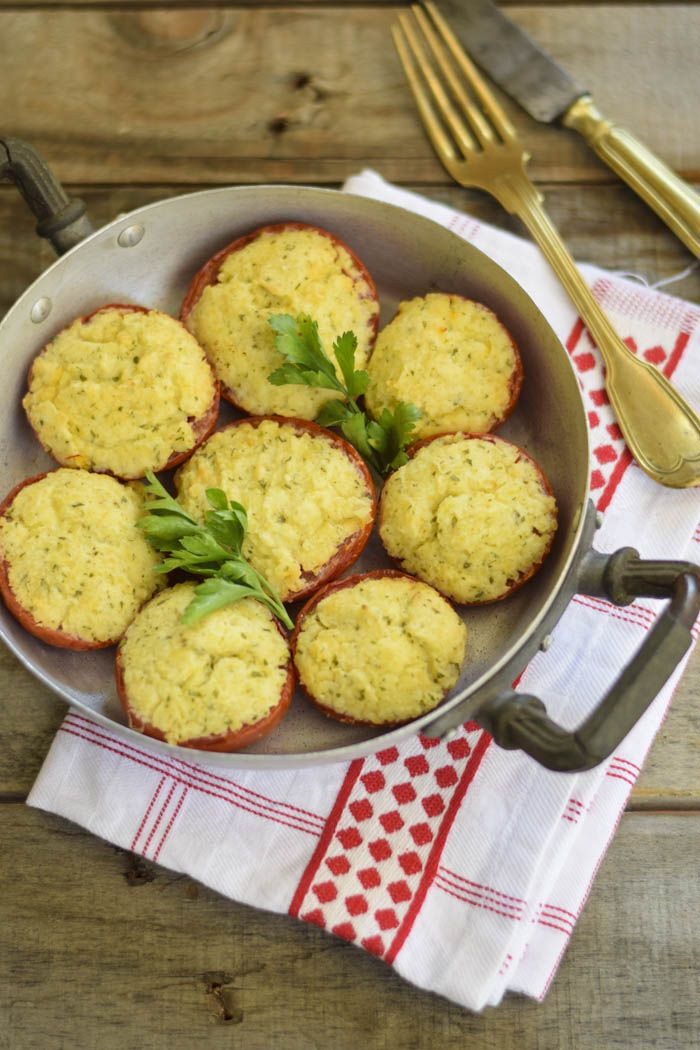 Pomodori ripieni con robiola