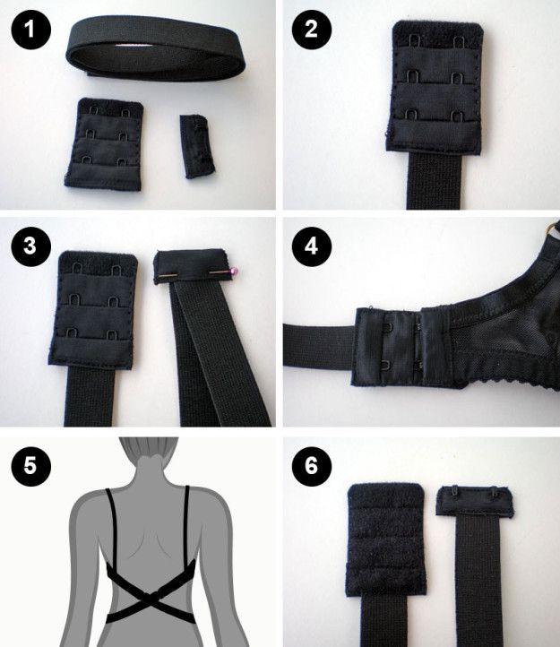 Todo lo que necesitas para presumir un escote de espalda son unos tirantes extra. | 15 Trucos inteligentes para todas las personas que usan brassiere