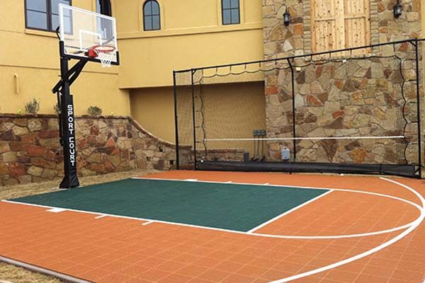 View Tons Of Outdoor Courts And Indoor Courts Designed And Built By Sport Court Get Great Ides Ri Outdoor Basketball Court Indoor Basketball Court Sport Court