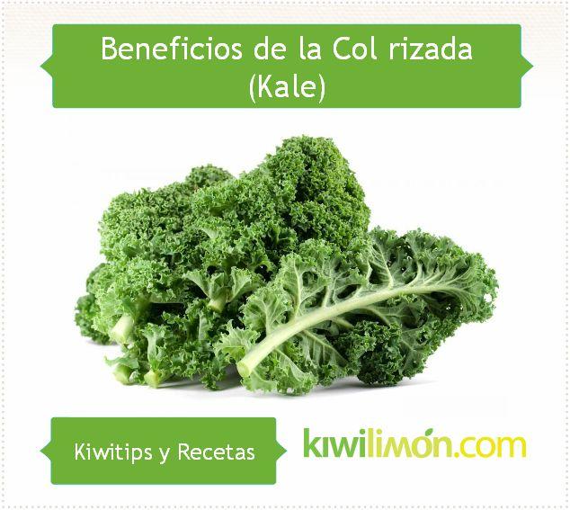 Beneficios de la col rizada o kale.