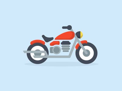 motorcycle, transportation, speed icon
