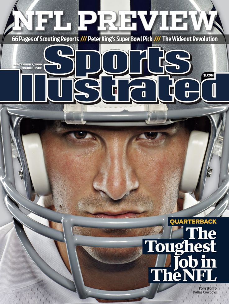 SI Cover - Tony Romo, QB for the #Dallas #Cowboys | #NFL Preview