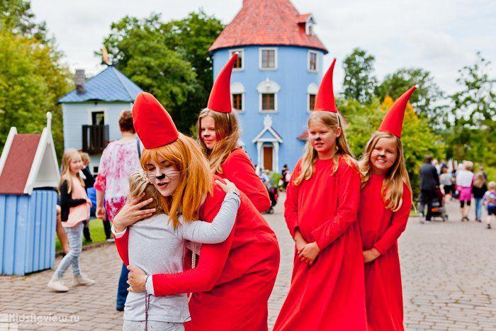 Moomin World theme park, Muumimaailma in Naantaly, Finland, photo