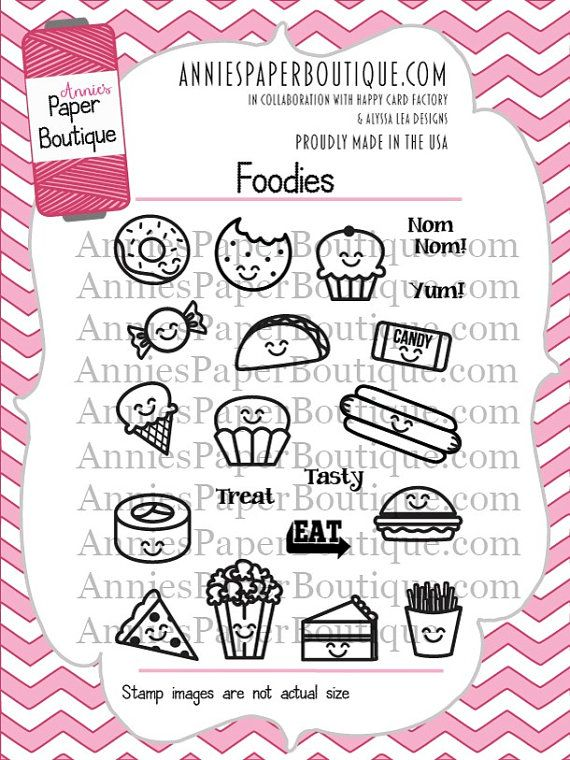 Planner Stamps by Annie's Paper Boutique   by AnniesPaperBoutique